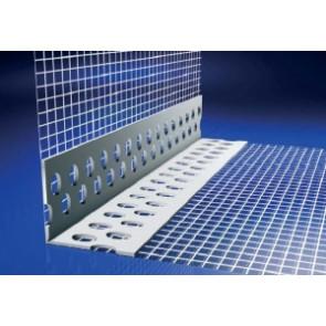 PVC ugaona lajsna sa mrežicom za fasadu