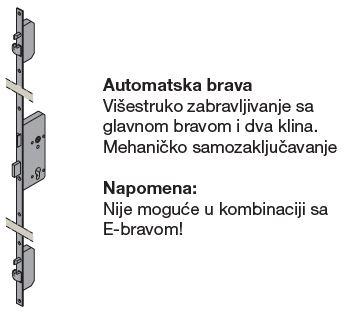 Automatska brava - mehanička
