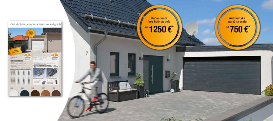Akcija garažnih i kućnih vrata